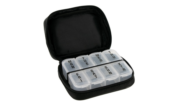 Men's 7-Day Pill Box Case