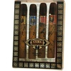 Cuba 4 Piece Mini Variety Set With Cuba Gold, Red, Blue, & Orange