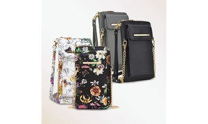 MK Belted Collection All-in-One Wristlet and Crossbody Purse