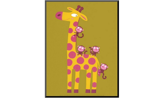 Groupon Goods: The Giraffe and the Monkeys by Nathalie Choux