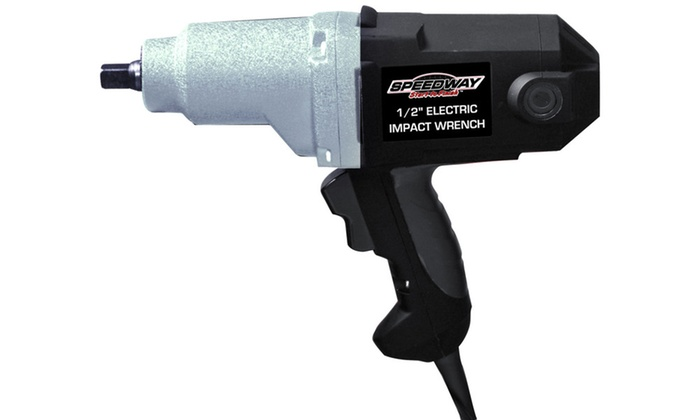 """Speedway 1/2"""" Electric Impact Wrench"""