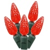 """200Lt LED Red/Gw C6 EC Set 6""""Sp 100'L"""