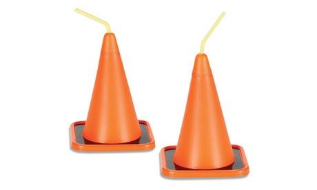 Construction Cone Cups (8) 2a27ea92-fe2d-4db1-bddd-d9e121b0e060