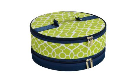 Trellis Green Pie/ Cake Carrier 036c23e4-bfee-4af4-aa3a-2a61a8d1e202