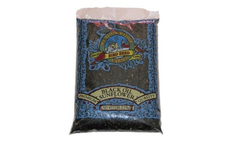 JRK Seed & Turf Supply B200005 5 lbs. Black Sunflower Wild Bird Food (Goods For The Home Patio & Garden Bird Feeders & Food) photo