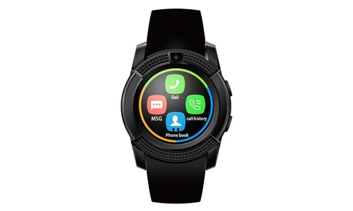 5c58f139e4f Up To 66% Off on Bluetooth Smart Wrist Watch M...