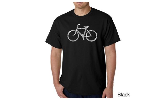 Men's T-shirt - SAVE A PLANET, RIDE A BIKE