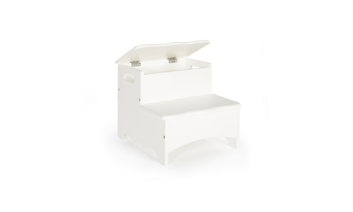 You Are My Everything Store: Guidecraft Classic White Storage Step Up G85706