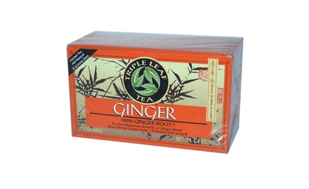 Triple Leaf Tea, Tea Bags, Ginger, 1.4-Ounce Bags, (Pack of 120 tea bags)
