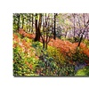 David Lloyd Glover Magic Flower Forest Canvas Print