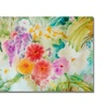 Sheila Golden Dream Flowers Canvas Print