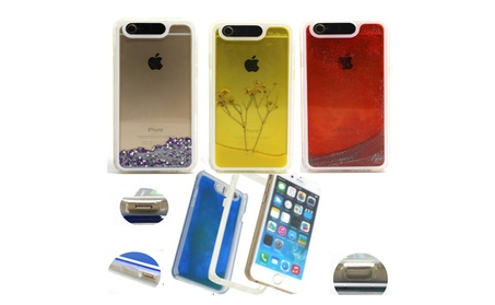 LifeBox Glow Apple iPhone 6/6s Case Liquid Infused Glitter 5e18bcb1-8e91-404a-a669-0720c645333a