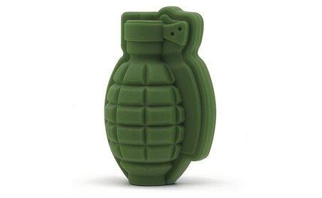 2Pcs Silicone Ice Cube Mold Tray Large 3D Shape Grenade Whiskey Drink 3c584619-5ba9-4be4-b5aa-e755a489d310