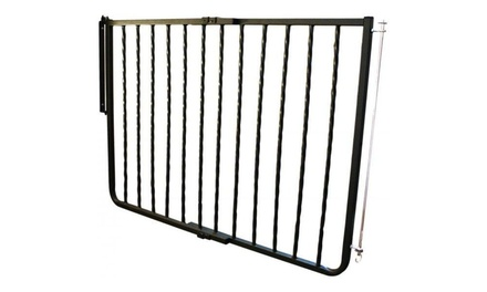 Gg Cm Cardinal Wrought Iron Decor Mounted Gate Black 27 42 5 X 29 5 on 7616