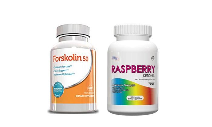 Buy It Now : Belly Fat Burner Kit-Raspberry Ketones & Forskolin 50