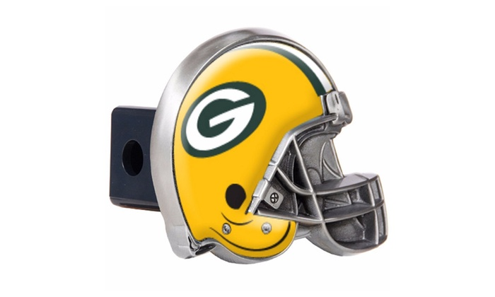 Green Bay Packers Helmet Trailer Hitch Cover – NFL Multi-Color