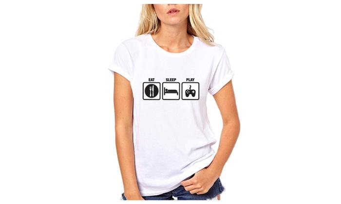 Eat Sleep Play Funny T Shirt