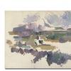 Paul Cezanne Montagne Sainte Victorie, 1904 Canvas Print