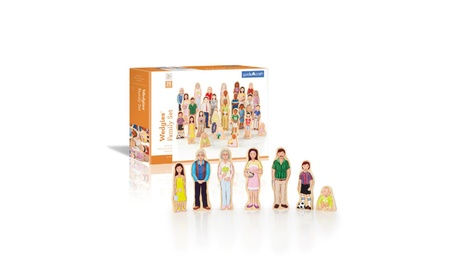 Guidecraft™ Wedgies Multi-Cultural Family Set G1123 4aa87317-9584-4f15-b073-3cae15c8950e