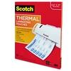 Scotch Letter Size Thermal Laminating Pouches, 3 mil, 100 Pk