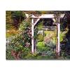 David Lloyd Glover Botanical Paradise Canvas Print