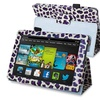 Insten Purple Leopard Stand Leather Case For Kindle Fire HD 7 2013