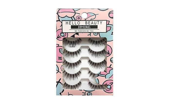 2c720f58170 Multipack Demi Wispies Fake Eyelashes 5 Pack | Groupon
