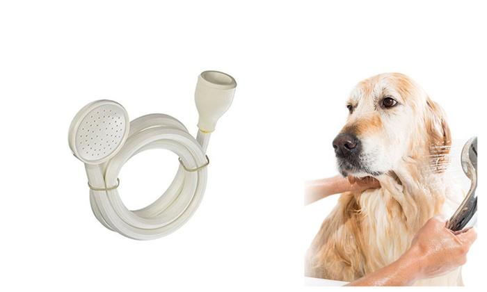 Bath Tub Sink Faucet Washing Attachment Hair Dog Pet Shower Spray Hose