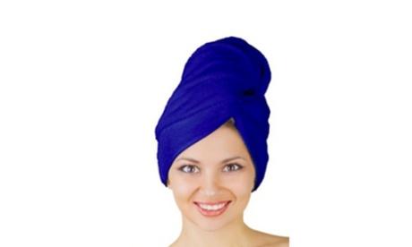 QPower Premium New Microfiber 123 Hair Drying Turban 15c0c651-0e2c-4507-b35e-d50a92df0724