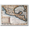 'Map of Mexico or New Spain 1625' Canvas Art