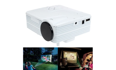 HD 1080P Home Cinema Theater LED LCD Projector PC AV TV VGA USB HDMI