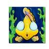 Sylvia Masek Fish Bubbles Canvas Print