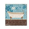 Lisa Audit Eco Motif Bath I Canvas Print