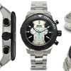 Brandt And Hoffman Chronograph Butler Mens Watch Silver/Black