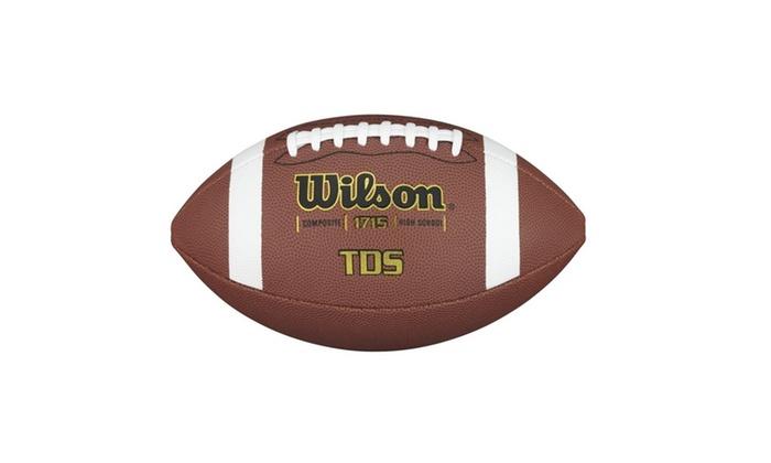 Wilson TDS Composite Piloflex Superskin Football Official