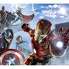 Avengers Age Of Ultron Character XL Chair Rail Prepasted Mural 6'x10'