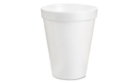 Dart Foam Drink Cups, 6oz, White, 25Bag, 40 BagsCarton 0c9ebba0-6090-400c-8400-703b35988cfe