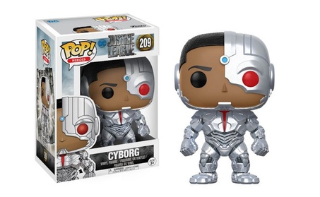 Funko Pop Movies DC Justice League - Cyborg Vinyl Figure c81a9619-e30e-4fcf-a438-9b7bfb282d09