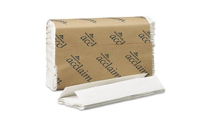 Georgia Pacific Professional C-Fold Paper Towels, White, 10 Pk