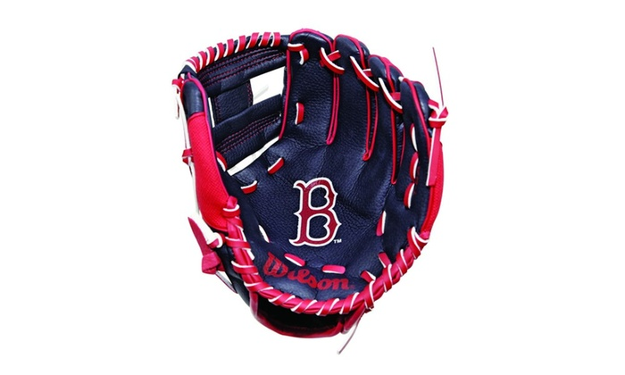 Wilson A0200 10 Boston Red Sox Baseball Glove