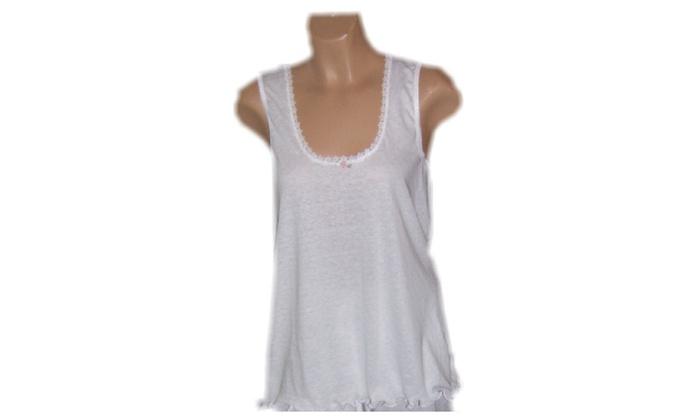 Women's Cotton Pajama / Tank Top
