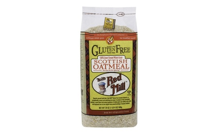 Bob's Red Mill Gluten Free Scottish Oatmeal 20 OZ (4 pack) 659aa3f9-9f46-487b-877f-b93ba6e31479