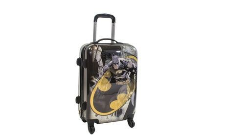 "DC Comics Batman 21"" Spinner Rolling Luggage Suitcase 8037925c-208d-4ff6-8104-2cb4bda05201"