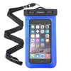 Insten Blue Waterproof Bag Case Pouch with Lanyard for iPhone 6 6SPlus