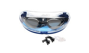 Insten Non-Fogging Anti UV Swimming Goggle Glasses Adult Black