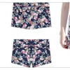 Women's Floral Casual Short Navy - ZWWS501-ZWWS502