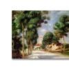 Pierre Renoir The Road to Essoyes Canvas Print