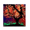 Roderick Stevens Fall Red Tree Canvas Print