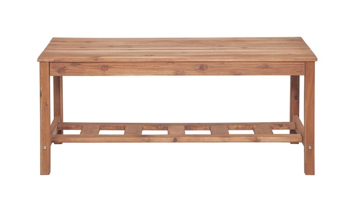 WE Furniture Acacia Wood Ladd.