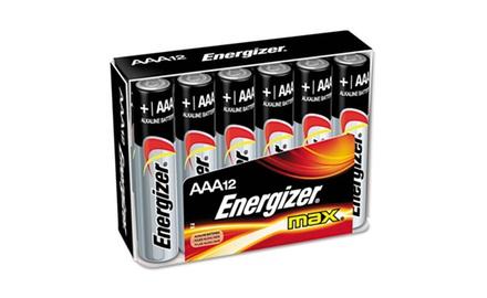 MAX Alkaline Batteries, AAA, 12 Batteries (EVEE92FP12)